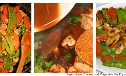 Super-Easy Chicken and Vegetable Stir Fry – Dinner in 20 minutes