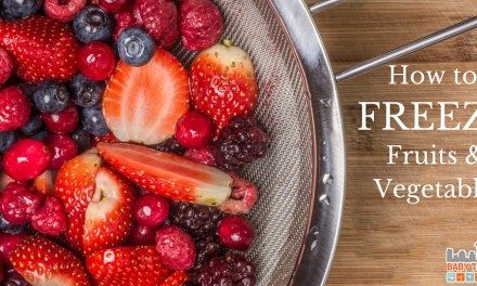 How to Freeze Fruit and Vegetables the Right Way