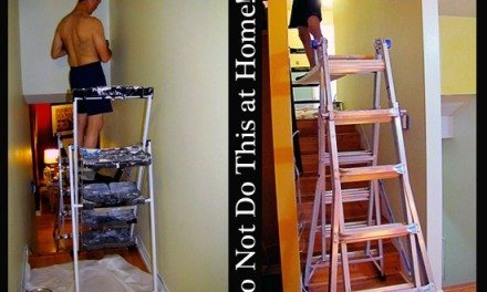 Painting High Areas Requires Proper Equipment, Usually