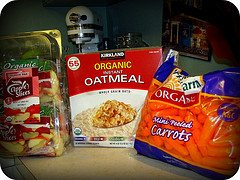 My Weight Watchers Food Diary for 2/16/10 and New Organic Food Discoveries at Costco