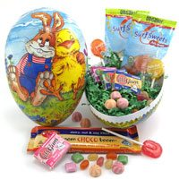 Egg Filled with Natural and allergy-free candy