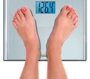 My New Digital Bathroom Scale and My Weight Watchers Daily Food Diary for Tuesday