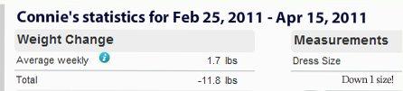 My week 10 Weight Watchers PointsPlus Online program update