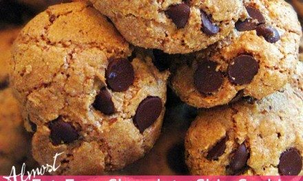 Almost Fat-Free Chocolate Chip Cookie Recipe