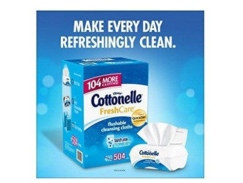 Cottonelle Flushable Moist Wipes –  Get Fresh with a Friend!