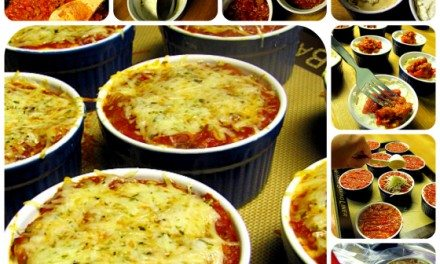 Gimmie Lean Vegetarian Sausage Mini Lasagna Recipe – OAMC Version