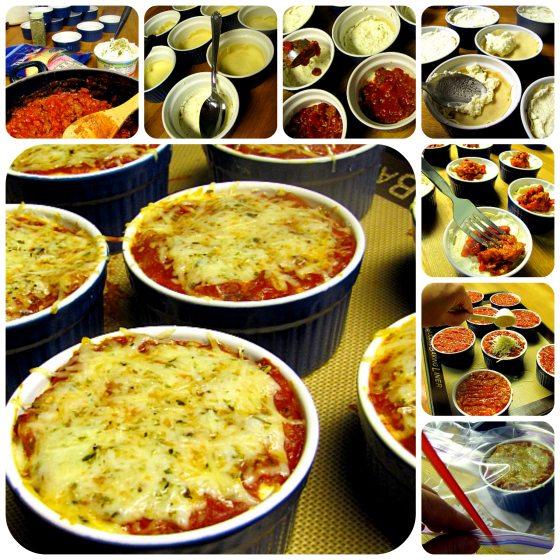 Gimmie Lean Vegetarian Sausage Individual Mini Lasagna - easy to make!