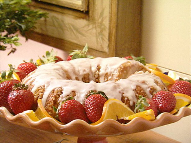 Paula Deen Nutty Orange Coffee Cake