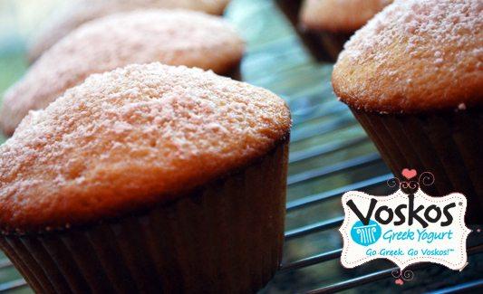 Vanilla Greek Yogurt Mini Muffins