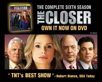 The Closer: The Complete Sixth Season on DVD Bonus Features Don't Disappoint