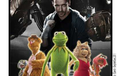 "Gearing Up for Disney's ""Muppets Movie"" and DreamWorks' ""Real Steel"""