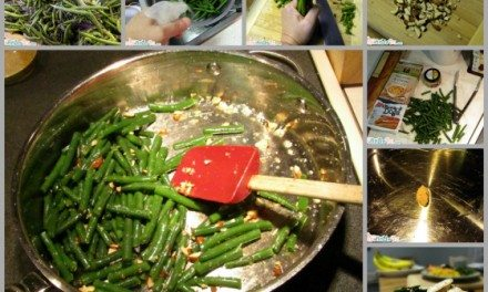 RECIPE: Quick and Easy Fresh Green Beans and Almonds