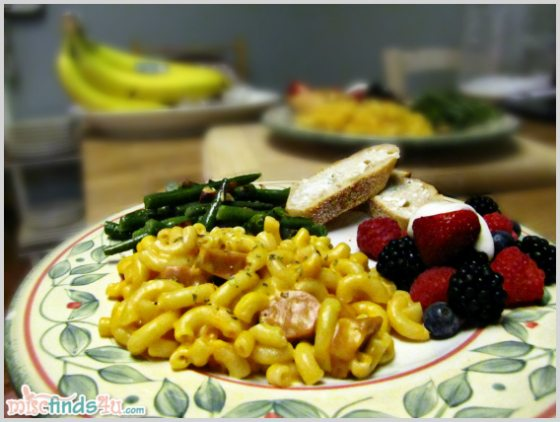 Boxed Mac and Cheese Dinner - it's possible for it to be healthy, nutricious and delicious