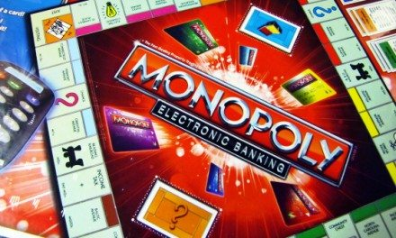 Celebrate Family Game Night With the New Electronic Banking Monopoly {Gift Guide}
