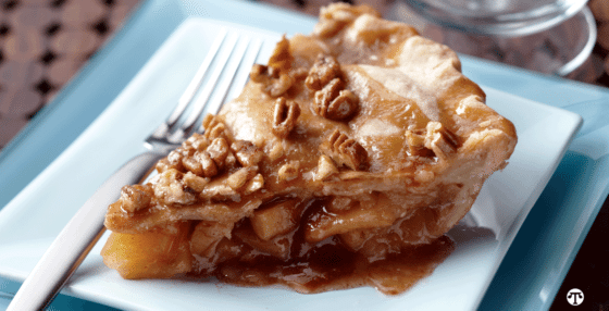 Nutty Caramel Apple Pie Recipe