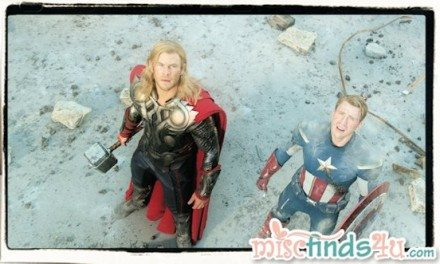 Marvel's The Avengers Special Twitter Chat Event 1/31/12