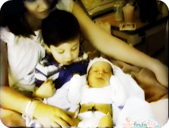 Video: Our Children Meet for the First Time 24-Years Ago Today