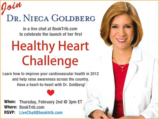 Sign Up and Chat Live with Dr. Nieca Goldberg