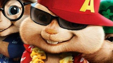 Printables:  Alvin and the Chipmunks: Postcards, Easter Cards