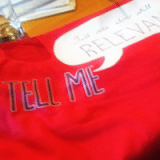 """My """"Tell Me' t-shirt"""