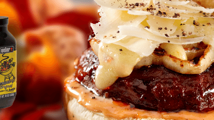 "Vegetarian Grilling: Barbecued Portobello ""Cheeseburgers"" Recipe"