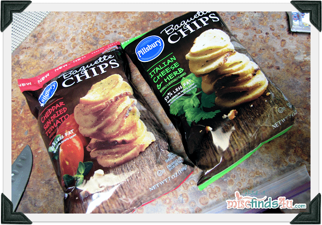 New snacks from Pillsbury - Baguette Chips in two flavors