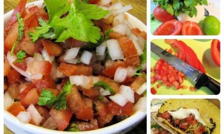 Recipe: Quick, Easy and Mild Fresh Pico de Gallo