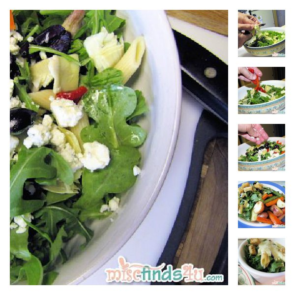 Easy Summer Feta Salad