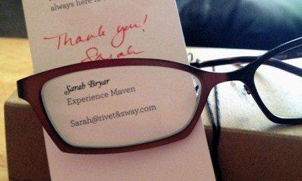 Rivet & Sway – Designer Prescription Glasses For Women Follow-up