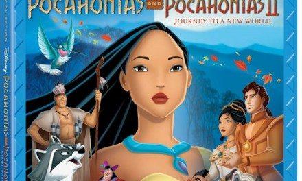 Disney's POCAHONTAS and POCAHONTAS II Movie Collection on Blu-ray 8/21