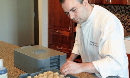 Dehydrator Vanilla Almond Macaroons Recipe by Chef MacMillian