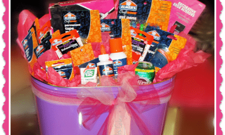 Going Back-to-School with Elmer's Glue – Teacher's Gift Ideas
