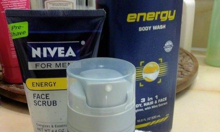 NEW NIVEA for MEN Energy Skin, Hair and Body Care Products