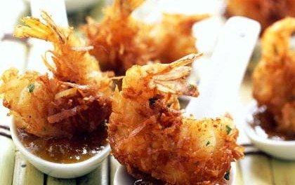 Recipe: Coconut Shrimp with Maui Mustard Sauce