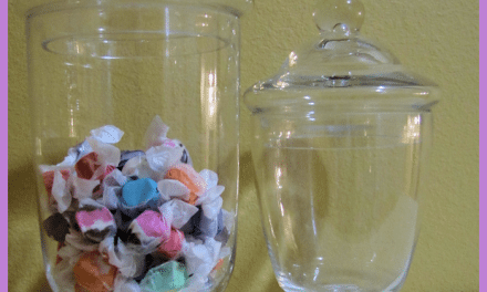 Dessert Bar Ideas – Low Cost Lidded Apothecary Jars Add Style