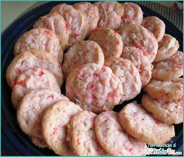 Cherry Pecan Chews Cookie Recipe