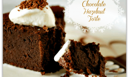 Homemade Chocolate Hazelnut Torte Recipe