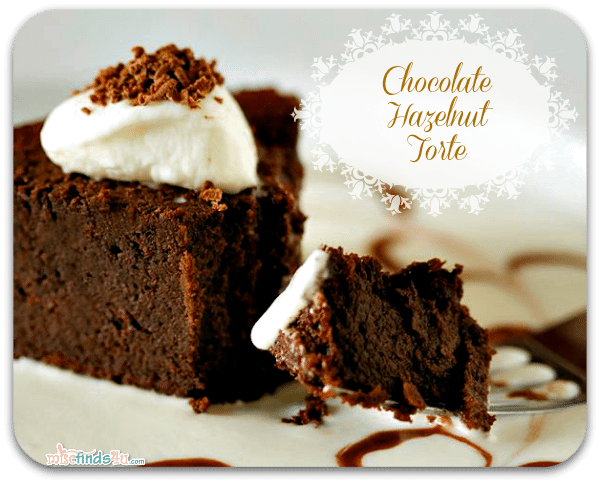 Chocolate Hazelnut Torte Recipe