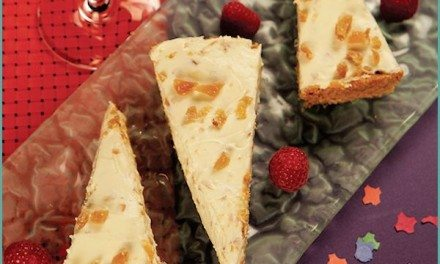 Recipes: Easy No Bake Cheesecake with Candied Ginger Recipe