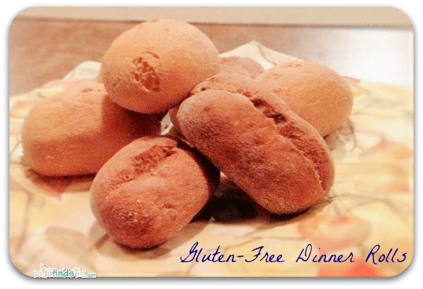 Gluten-Free Whole Grain Seeded Dinner Rolls