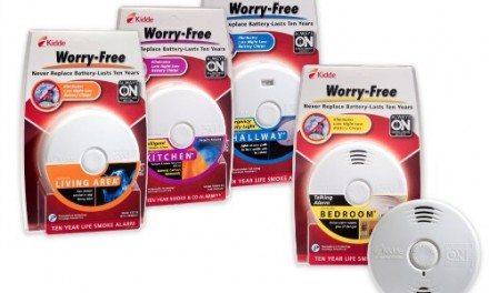 Kidde Worry-Free Smoke Alarms – Chirp-Free for 10-Years!