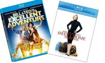 New to Blu-ray: Sweet Home Alabama and Bill & Ted's Excellent Adventure