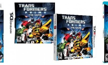 Transformers Prime: The Game for Nintendo Wii, DS, 3DS, and Wii U