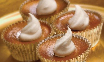 Recipes: Easy Individual Mini Pumpkin Pies Recipe with Cookie Crust