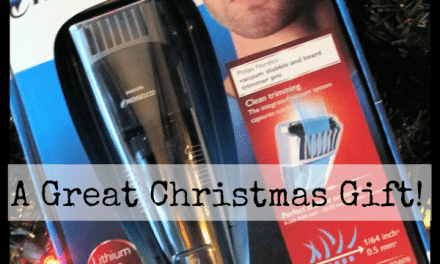 Gift Suggestions for Men: Phlips Norelco Vacuum Stubble and Beard Trimmer