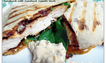 Chicken Bacon Spinach and Sun-dried Tomato Aioli Recipe