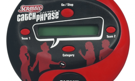 Review: Scrabble Electronic Catch Phrase – Party Game Fun!