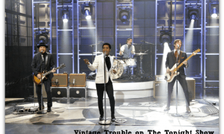 TV Recap: Vintage Trouble on The Tonight Show with Jay Leno #CBIAS @VintageTrouble