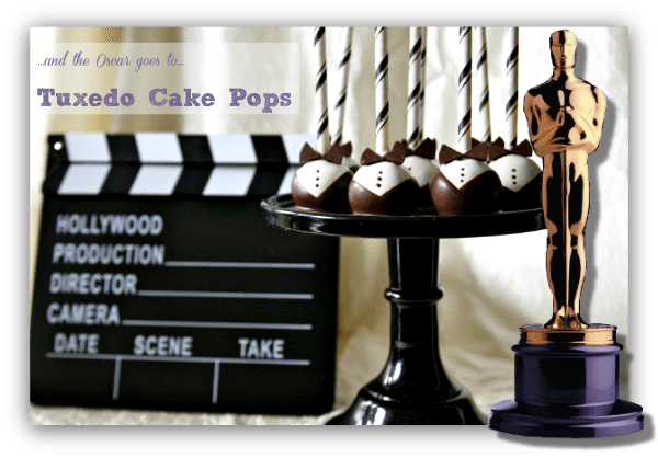 Red Carpet Bow Tie Cake Pops Recipes - homemade cake balls from scratch recipe