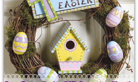 Easy Easter Crafts: DIY Grapevine Wreath – Great Kids' Craft Tutorial